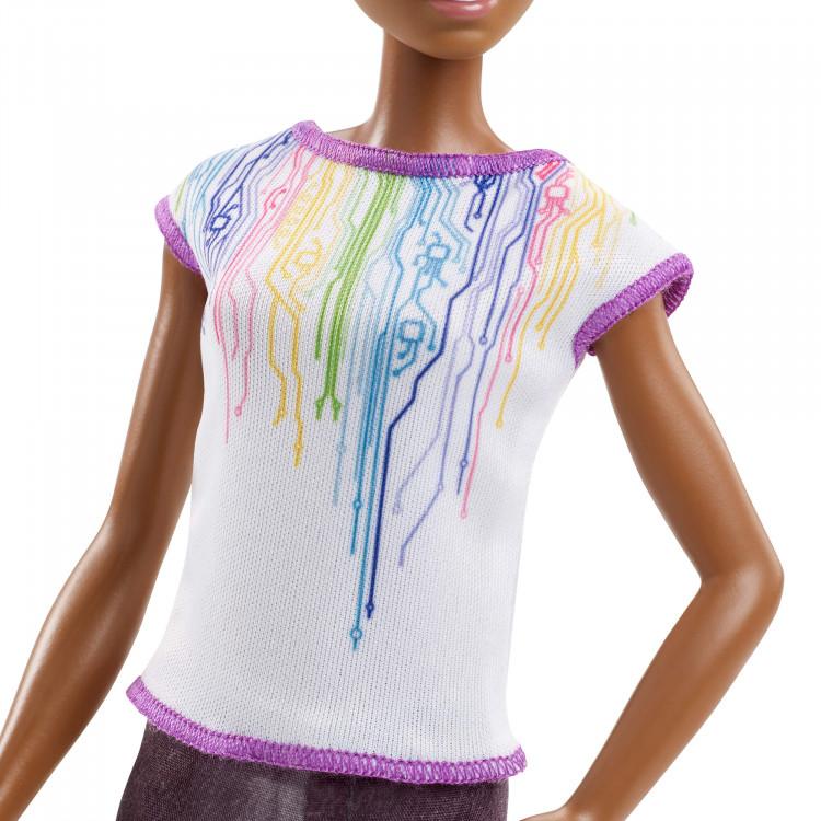 Барбі інженер-робототехнік Barbie Career of the Year Robotics Engineer Doll, Dark Brown Hair