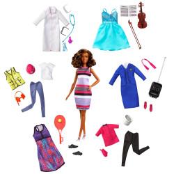 Кукла Барби Я могу быть Карьеры Мечты Barbie You Can Be Anything Barbie Dream Careers Doll & Clothes, African American