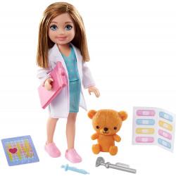 Кукла Барби Челси Я могу быть Врач Barbie Chelsea Can Be Playset with Blonde Doctor Doll