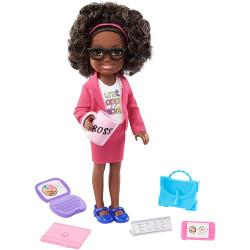 Кукла Барби Челси Я могу быть Босс Barbie Chelsea Can Be Playset with Brunette Boss Doll