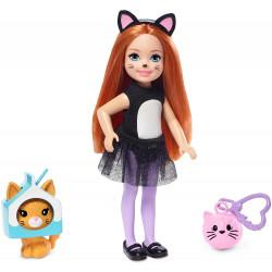 Кукла Барби Челси в костюме кота Barbie Club Chelsea Dress-Up Doll in Cat Costume