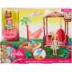Ігровий набір Лялька Барбі Челсі Хатина Barbie Chelsea Doll and Tiki Hut Playset