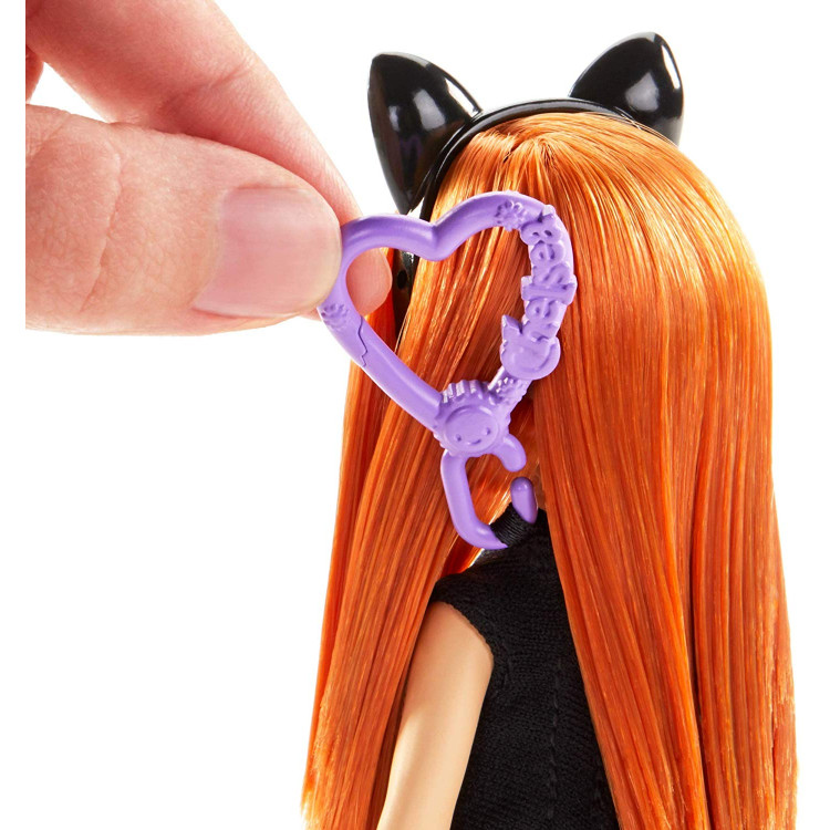 Лялька Барбі Челсі у костюмі кота Barbie Club Chelsea Dress-Up Doll in Cat Costume
