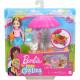 Игровой набор Кукла Барби Челси Тележка для закусок Barbie Club Chelsea Doll and Snack Cart Playset