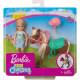 Кукла Барби Челси с темным пони Barbie Club Chelsea Doll and Brown Pony, Blonde