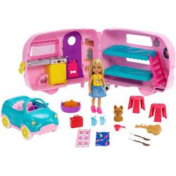 Игровой набор Барби Кемпер Челси Barbie Club Chelsea Camper Playset with Chelsea Doll