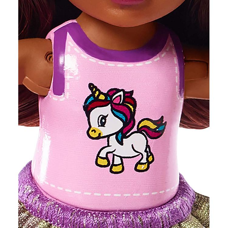 Кукла Барби Челси с белым пони Barbie Club Chelsea Doll and White Pony, Brunette