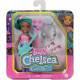 Кукла Барби Челси Я могу быть Рок-звезда Barbie Chelsea Can Be Playset with Blue Hair Rockstar Doll