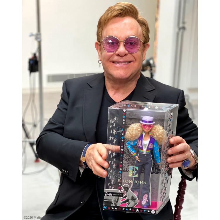 Лялька Барбі колекційна Елтон Джон Barbie Collector Elton John Doll