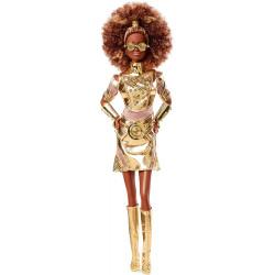 Кукла Барби коллекционная Звездные Войны Дроид Си-Трипио Barbie Collector Star Wars C-3PO Doll