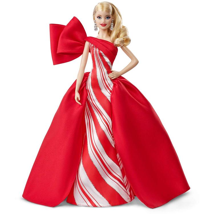 Лялька Барбі колекційна Святкова Barbie 2019 Holiday Doll, Blonde