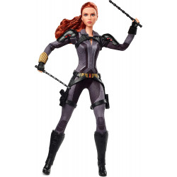 Кукла Барби коллекционная Марвел Чёрная вдова Barbie Marvel's Black Widow Doll
