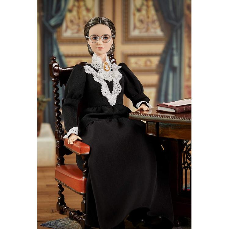 Кукла Барби Вдохновляющие женщины Сьюзен Энтони Barbie Inspiring Women Susan B. Anthony Collectible Doll