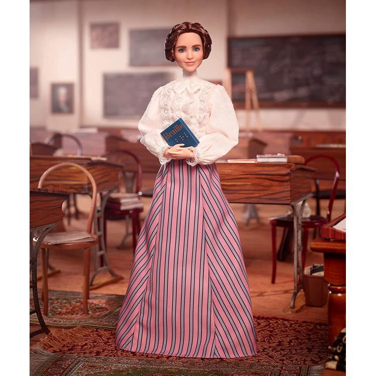 Кукла Барби Вдохновляющие женщины Хелен Келлер Barbie Inspiring Women Helen Keller Collectible Doll
