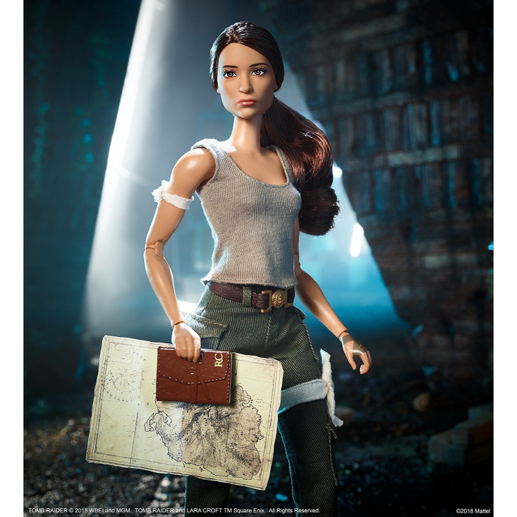 Лялька Барбі колекційна Лара Крофт Barbie Tomb Raider Doll