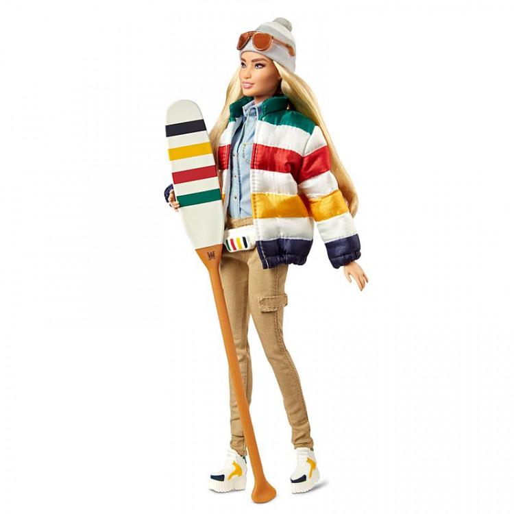 Кукла Барби коллекционная Гудзонов Залив Barbie Signature Hudson's Bay HBC Stripes Doll