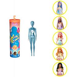Кукла Барби Сюрприз Цветное перевоплощение Barbie Color Reveal Sunny 'n Cool Series Doll with 7 Surprises Including Scented Wig