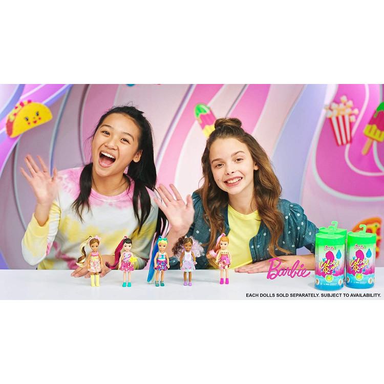 Лялька Барбі Челсі Сюрприз Кольорове перевтілення Barbie Color Reveal Chelsea Doll Foodie Series