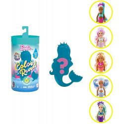 Кукла Барби Челси русалка Сюрприз Цветное перевоплощение Barbie Color Reveal Chelsea Mermaid Doll