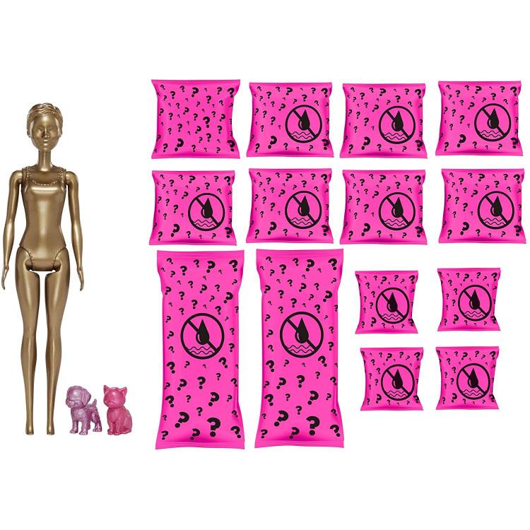 Лялька Барбі Сюрприз Кольорове перевтілення День та Ніч Barbie Color Reveal Doll Day-to-Night Transformation Dog Park to Movie Night  with 25 Surprises