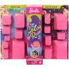 Кукла Барби Сюрприз Цветное перевоплощение День и ночь Barbie Color Reveal Doll Day-to-Night Transformation Dog Park to Movie Night  with 25 Surprises
