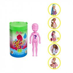 Кукла Барби Челси Сюрприз Цветное перевоплощение Barbie Color Reveal Chelsea Doll Foodie Series