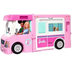 Игровой набор Барби Кемпер-трансформер для путешествий Barbie 3-in-1 DreamCamper Vehicle