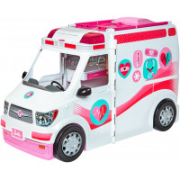 Барбі машина швидкої допомоги Barbie Care Clinic Vehicle
