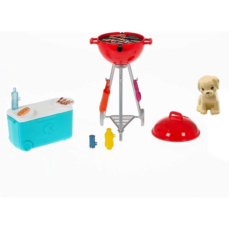 Игровой набор Барби Барбекю Barbie BBQ Playset with Pet, Scented Grill