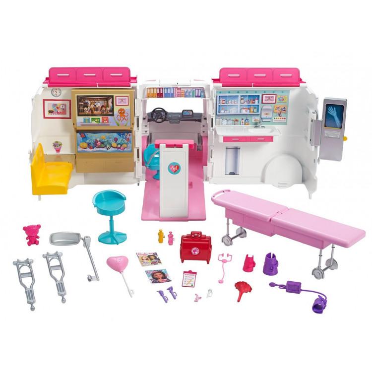 Игровой набор Барби Машина скорой помощи Barbie Care Clinic Vehicle