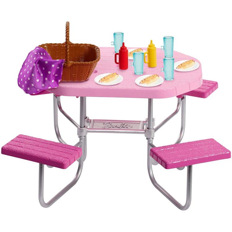 Ігровий набір Барбі стіл для пікніка Barbie Picnic Table Playset