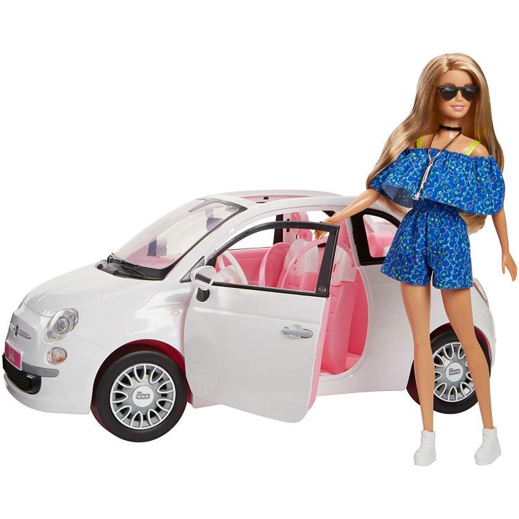 Игровой набор Кукла Барби с машиной Фиат Barbie Doll & Car Fiat Set Exclusive