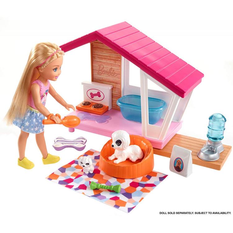 Ігровий набір Барбі будиночок для песика Barbie Puppy House Playset
