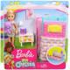 Игровой набор Кукла Барби Челси Спальная комната Barbie Club Chelsea Bedtime Playset