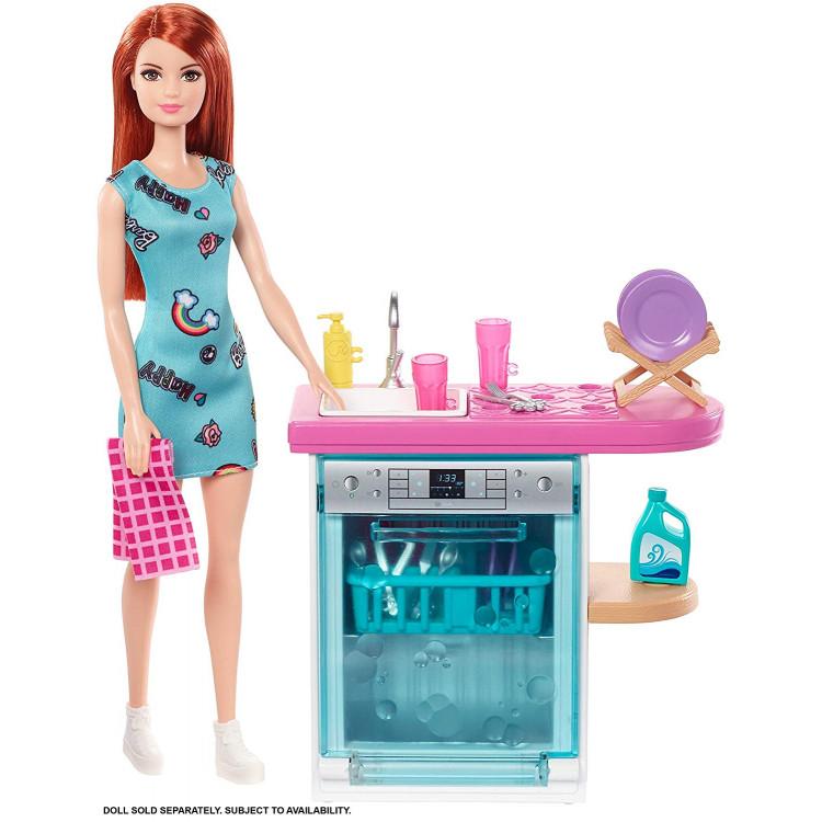 Ігровий набір Барбі Посудомийна машина Barbie Dishwasher Playset