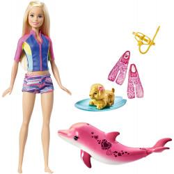 Барбі магія дельфінів Barbie Dolphin Magic Snorkel Fun Friends Playset