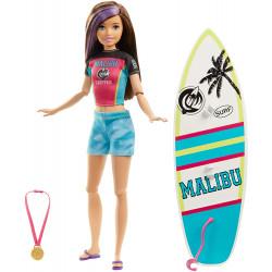 Кукла Барби Скиппер Cерфингистка Barbie Dreamhouse Adventures Skipper Surf Doll