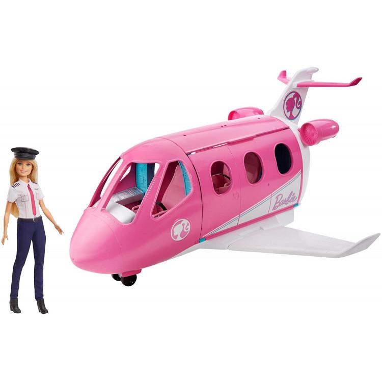 Ігровий набір Літак мрії з лялькою Барбі Пілот Barbie Dreamplane Transforming Playset with Doll
