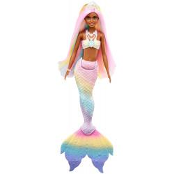 Лялька Барбі Дрімтопія Райдужна Чарівна Русалка Barbie Dreamtopia Rainbow Magic Mermaid Doll, Dark