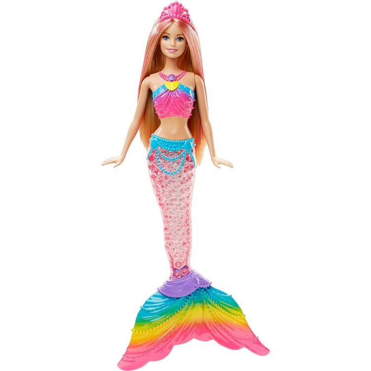 Кукла Барби Русалочка Яркие огоньки Дримтопия Barbie Dreamtopia Rainbow Lights Mermaid Doll, Blonde