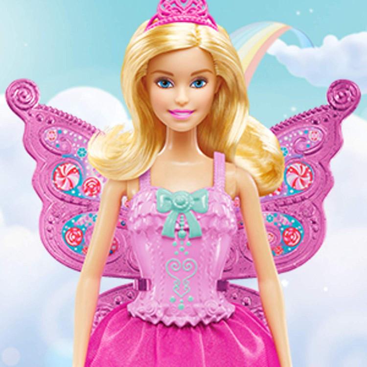 Кукла Барби Сказочное перевоплощение Barbie Dreamtopia Fairytale Dress Up Doll