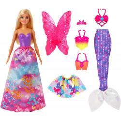 Лялька Барбі Дрімтопія Чарівне перетворення Barbie   Dress Up Doll Gift Set