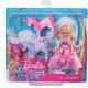 Лялька Барбі Челсі Принцеса та єдинороги Дрімтопія Barbie Dreamtopia Chelsea Princess Doll with Baby Unicorns
