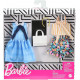 Одежда для кукол Барби Barbie Blue Plaid Dress, Striped Tie Top & Floral Shorts Fashions Outfits 2 Pack