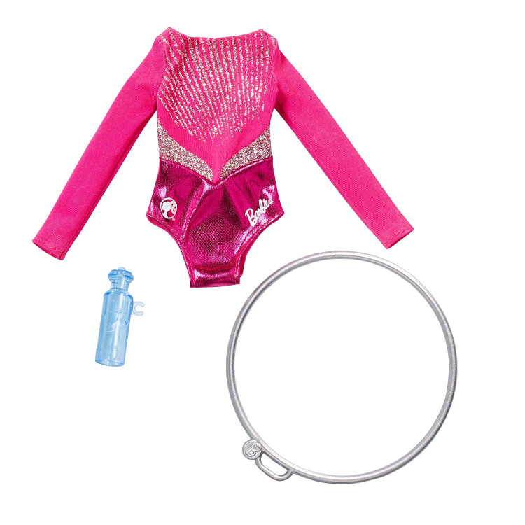 Одежда для кукол Барби Barbie Careers Dancer Gymnast Fashion Pack