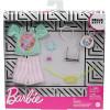 Одяг для ляльок Барбі Barbie Fashion Pack of Doll Clothes Hello Kitty: Aqua Kawaii Tokyo Top, Striped Shorts