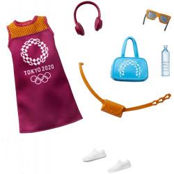 Одежда для кукол Барби Barbie Fashion Pack The Olympic Games Tokyo 2020: Dress