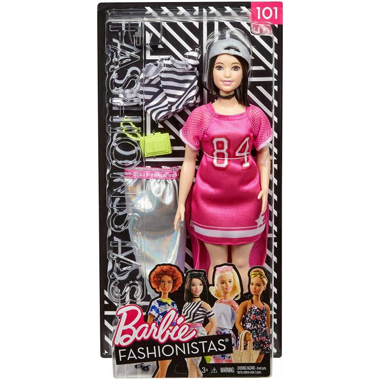 Барбі Модниця Barbie Fashionista Hot Mesh Doll 101