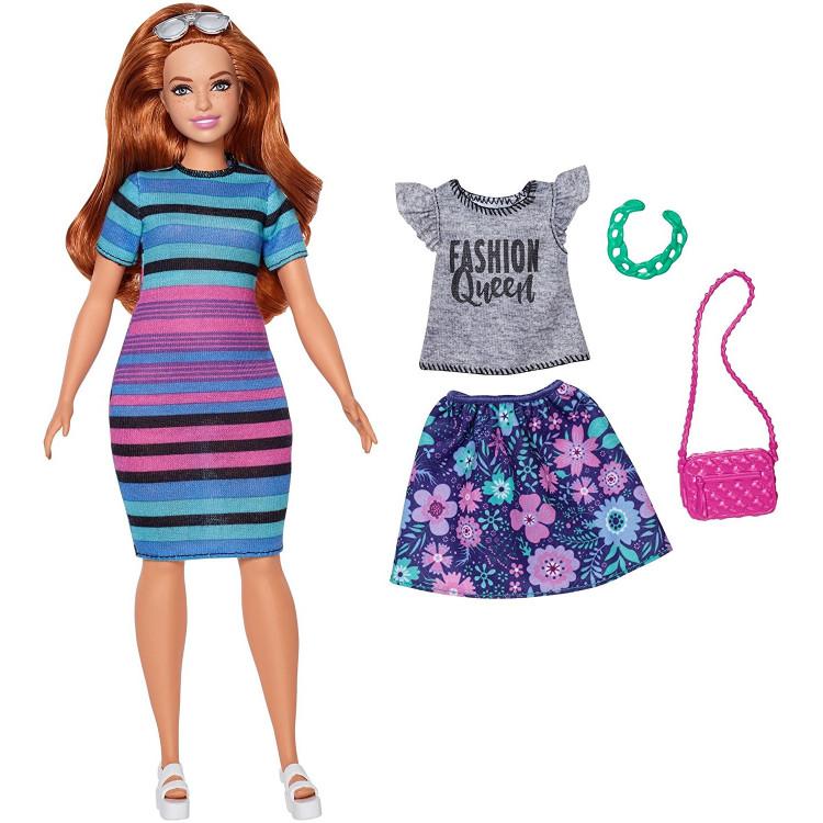 Барбі Модниця Barbie Fashionistas Rainbow Rave Doll 84