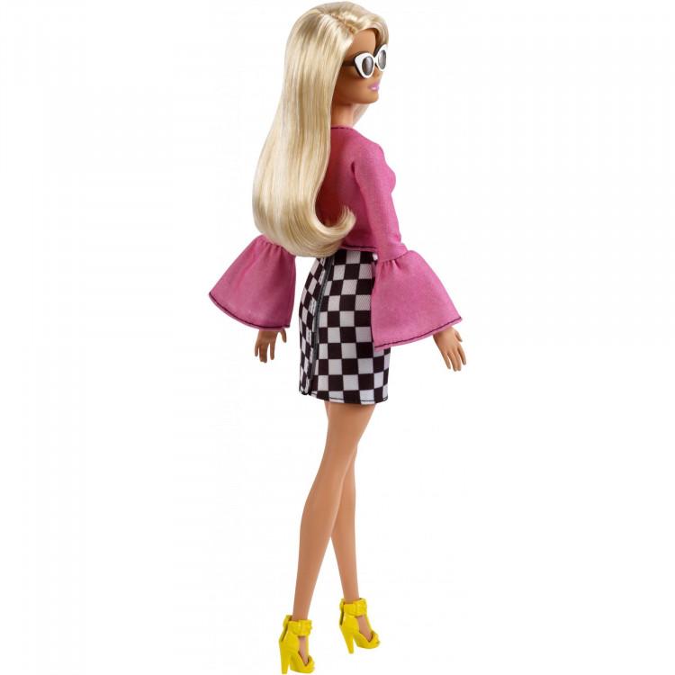 Барбі Модниця Barbie Fashionistas Doll, Original Body Type with Checkered Skirt 104